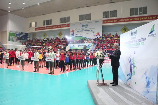 Chính thức khai mạc Giải Bóng chuyền Vô địch Quốc gia Cúp Bamboo Airways năm 2021 ảnh 4