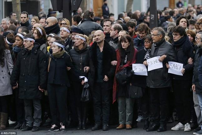 [ẢNH] 50 lãnh đạo thế giới tuần hành chống khủng bố ở Pháp ảnh 9