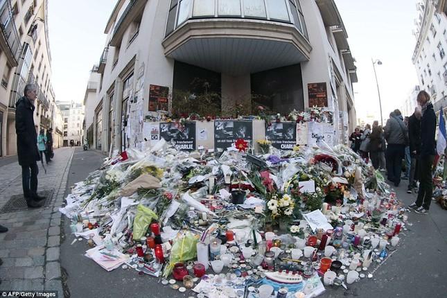 [ẢNH] 50 lãnh đạo thế giới tuần hành chống khủng bố ở Pháp ảnh 15