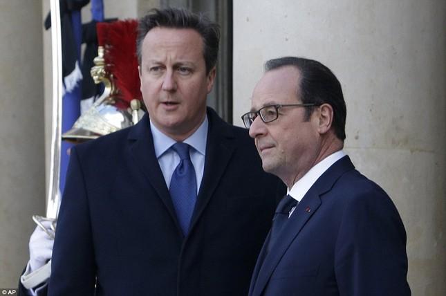 [ẢNH] 50 lãnh đạo thế giới tuần hành chống khủng bố ở Pháp ảnh 4