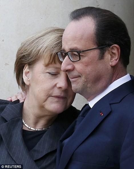 [ẢNH] 50 lãnh đạo thế giới tuần hành chống khủng bố ở Pháp ảnh 5