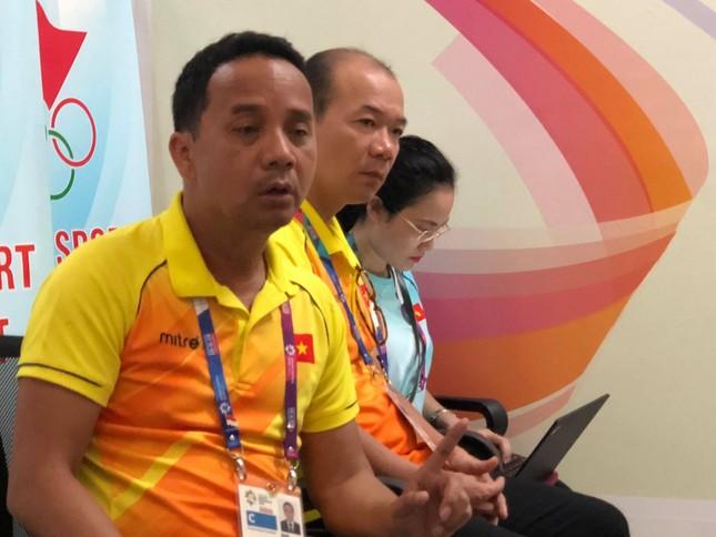 Nhiều câu hỏi về Ánh Viên với lãnh đạo đoàn TTVN tại Asiad 2018 ảnh 1