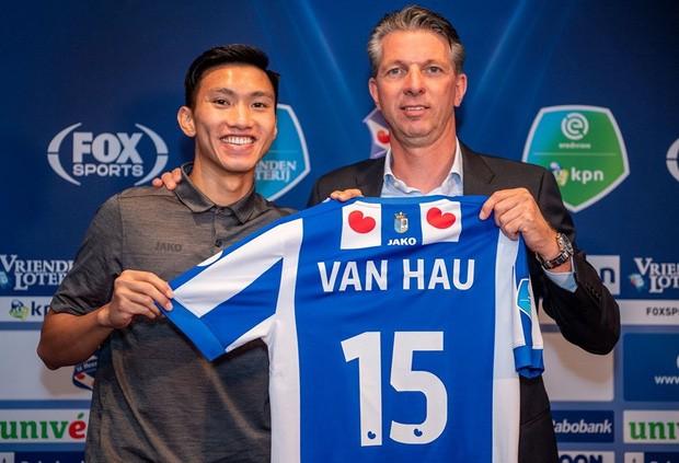 Vì sao Hà Nội chưa trả lời SC Heerenveen về Đoàn Văn Hậu? ảnh 1
