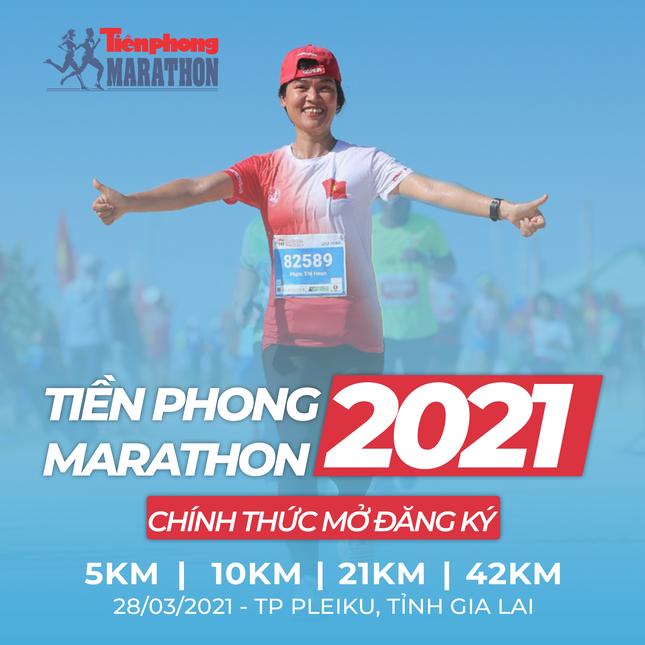 Tiền Phong Marathon mở cổng đăng ký từ 8h hôm nay 19/12 ảnh 1