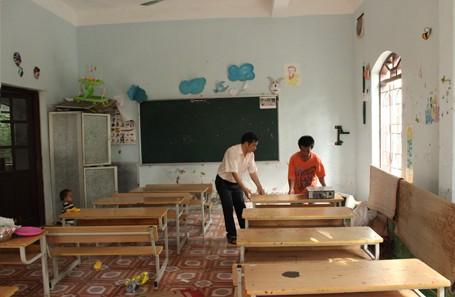 Trẻ em chùa Bồ Đề bỡ ngỡ trong 'ngôi nhà mới' ảnh 11