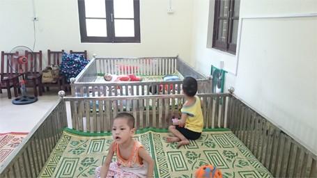 Trẻ em chùa Bồ Đề bỡ ngỡ trong 'ngôi nhà mới' ảnh 2