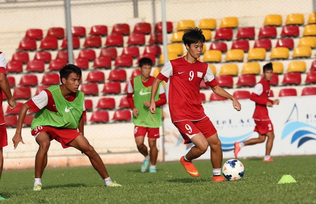 [ẢNH] U19 Việt Nam đội nắng luyện binh trước giờ ra trận ảnh 3