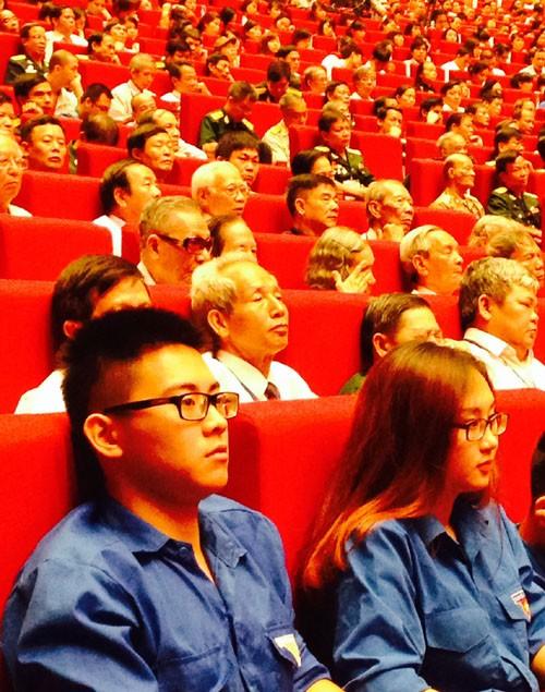 Mít tinh kỷ niệm 125 năm Ngày sinh Chủ tịch Hồ Chí Minh ảnh 2