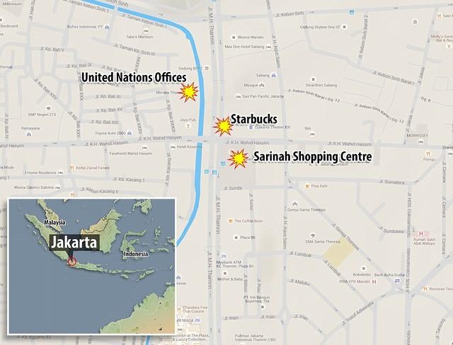Tiêu diệt và bắt giữ 9 nghi phạm đánh bom rúng động Jakarta ảnh 7