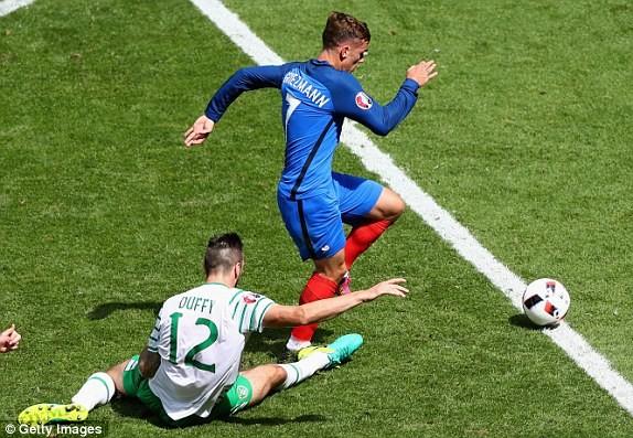 Griezmann lập cú đúp, Pháp ngược dòng thắng CH Ireland ảnh 19
