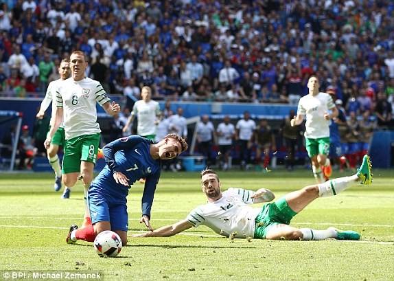 Griezmann lập cú đúp, Pháp ngược dòng thắng CH Ireland ảnh 20