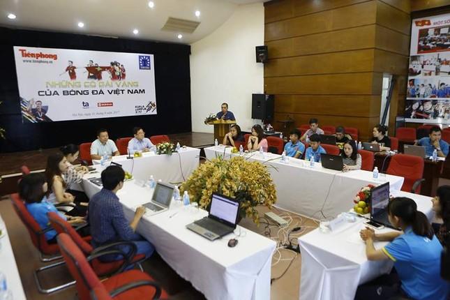 Giao lưu trực tuyến với những 'cô gái vàng' bóng đá Việt ảnh 11