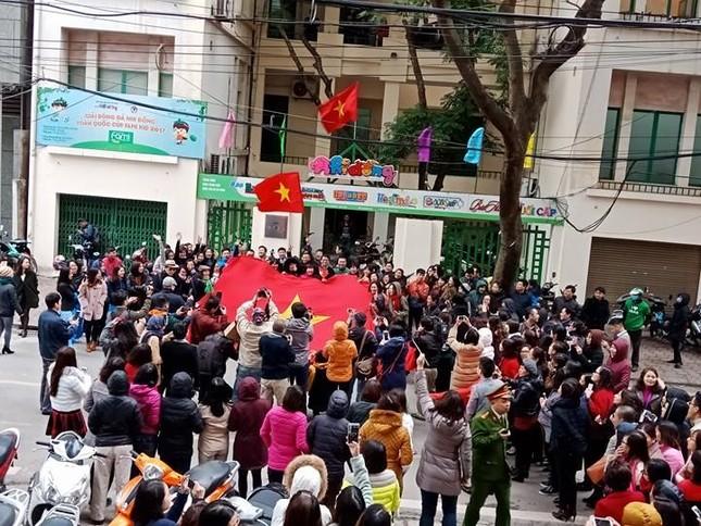 U23 Việt Nam: 'Không quản mưa tuyết, cứ ra sân là 'chiến' thôi' ảnh 10