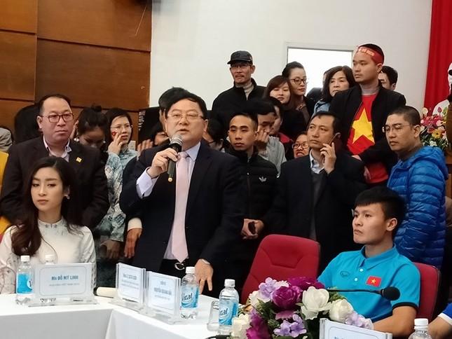 U23 Việt Nam: 'Không quản mưa tuyết, cứ ra sân là 'chiến' thôi' ảnh 19