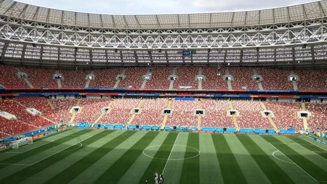 Nước Nga tưng bừng náo nhiệt khai hội World Cup 2018 ảnh 26