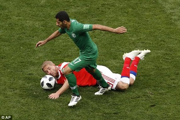 Nga thắng Saudi Arabia '5 sao' ở trận khai mạc World Cup ảnh 29