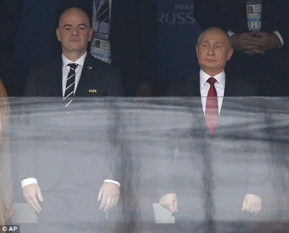 Nước Nga tưng bừng náo nhiệt khai hội World Cup 2018 ảnh 62