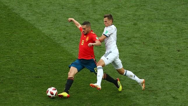 Thắng nghẹt thở Tây Ban Nha bằng 'đấu súng', Nga tiến vào tứ kết ảnh 30