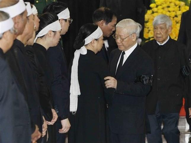 Hình ảnh Lãnh đạo Đảng, Nhà nước viếng Chủ tịch nước Trần Đại Quang ảnh 8