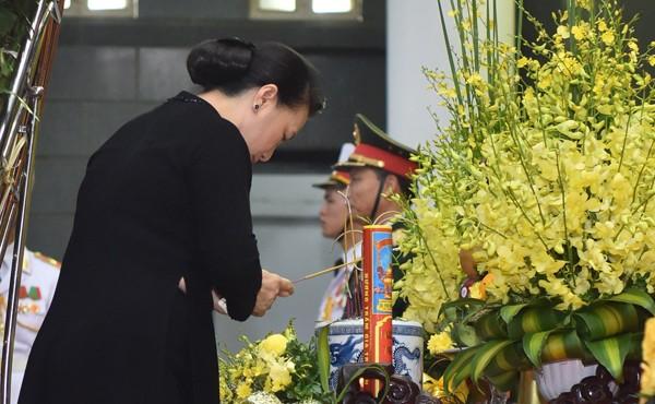 Hình ảnh Lãnh đạo Đảng, Nhà nước viếng Chủ tịch nước Trần Đại Quang ảnh 11