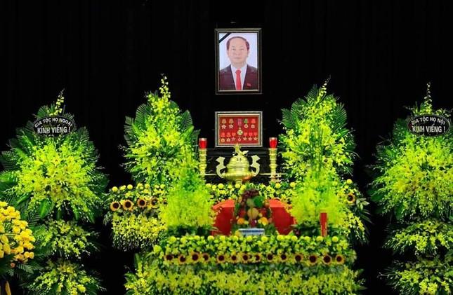 Hình ảnh Lãnh đạo Đảng, Nhà nước viếng Chủ tịch nước Trần Đại Quang ảnh 1