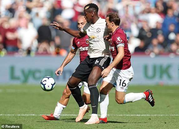 West Ham vs M.U (3-1): Quỷ đỏ sa lầy ảnh 7