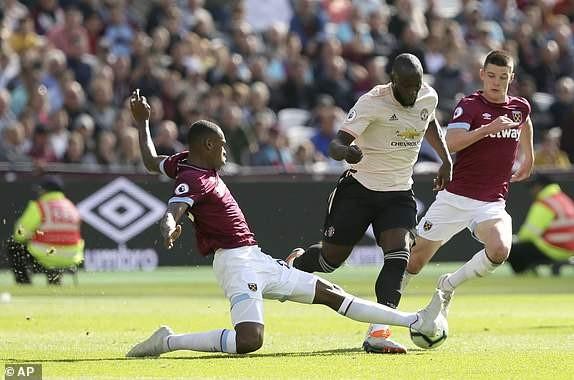 West Ham vs M.U (3-1): Quỷ đỏ sa lầy ảnh 11