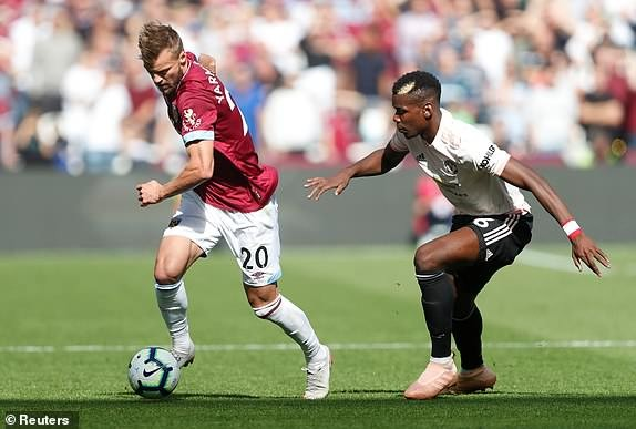 West Ham vs M.U (3-1): Quỷ đỏ sa lầy ảnh 12