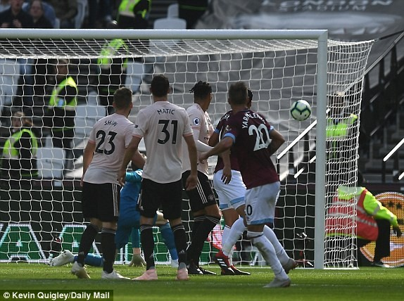 West Ham vs M.U (3-1): Quỷ đỏ sa lầy ảnh 9