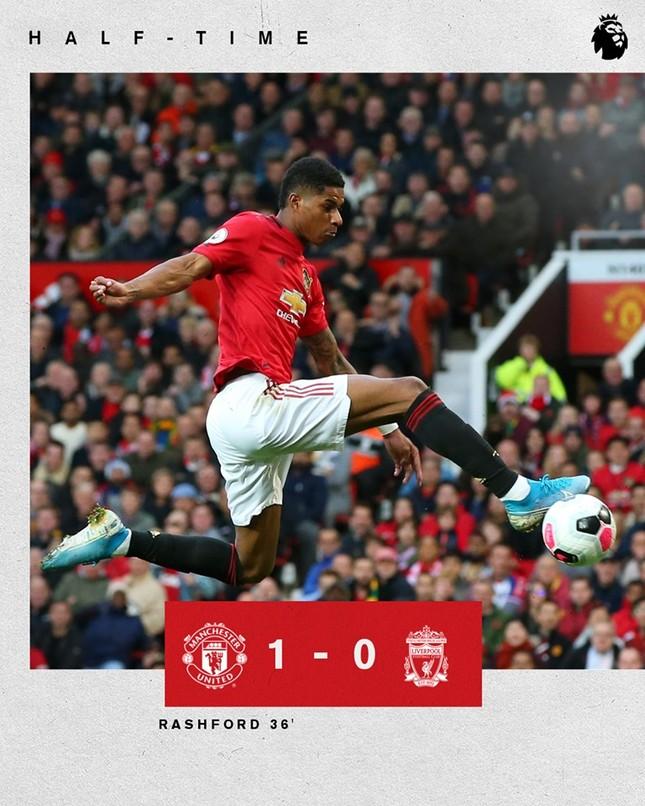 VAR 2 lần trợ giúp, M.U vẫn không thắng được Liverpool ảnh 12