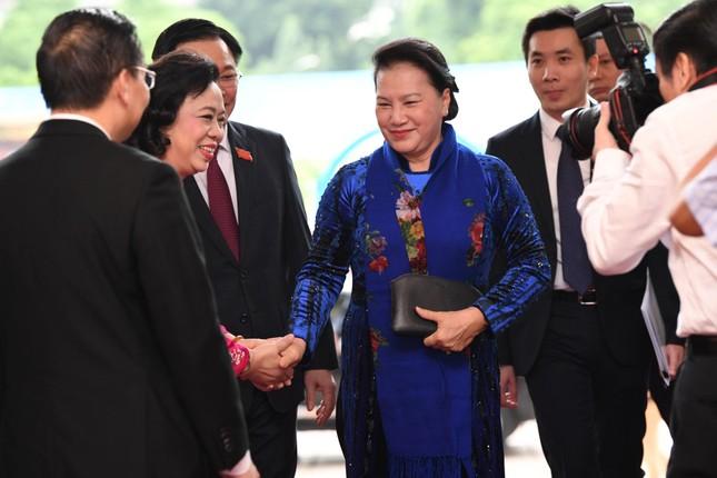 Tổng Bí thư, Chủ tịch nước dự phiên khai mạc Đại hội Đảng bộ TP Hà Nội ảnh 3