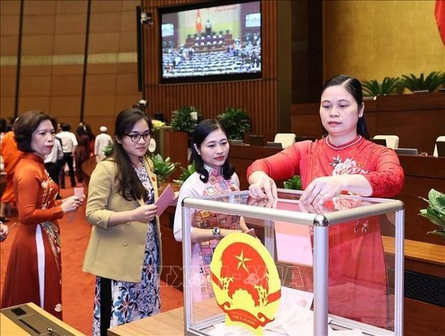 Hình ảnh quy trình miễn nhiệm Chủ tịch Quốc hội Nguyễn Thị Kim Ngân ảnh 6