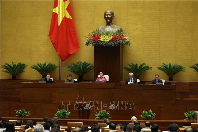 Hình ảnh tân Chủ tịch Quốc hội Vương Đình Huệ tuyên thệ nhậm chức ảnh 1
