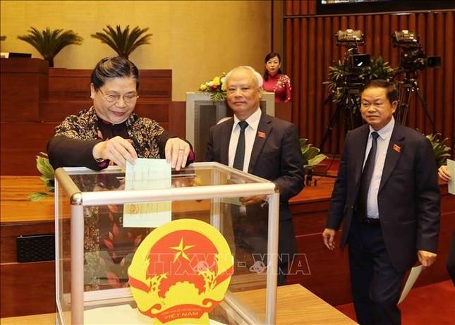 Hình ảnh tân Chủ tịch Quốc hội Vương Đình Huệ tuyên thệ nhậm chức ảnh 4