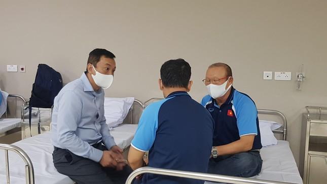 Hình ảnh đầu tiên HLV Park Hang Seo sau khi tiêm vắc xin COVID-19 ảnh 3