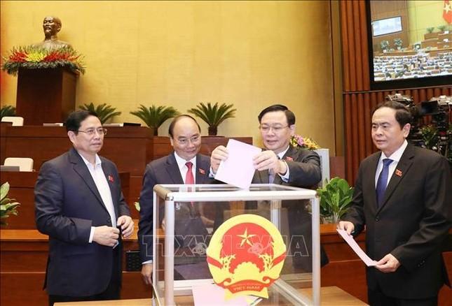 Quốc hội miễn nhiệm Phó Chủ tịch nước Đặng Thị Ngọc Thịnh ảnh 1