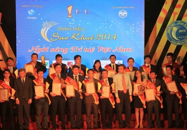 Maybanhang.net đạt danh hiệu Sao Khuê 2014 ảnh 1