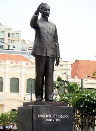 TP HCM khánh thành tượng đài Chủ tịch Hồ Chí Minh ảnh 2