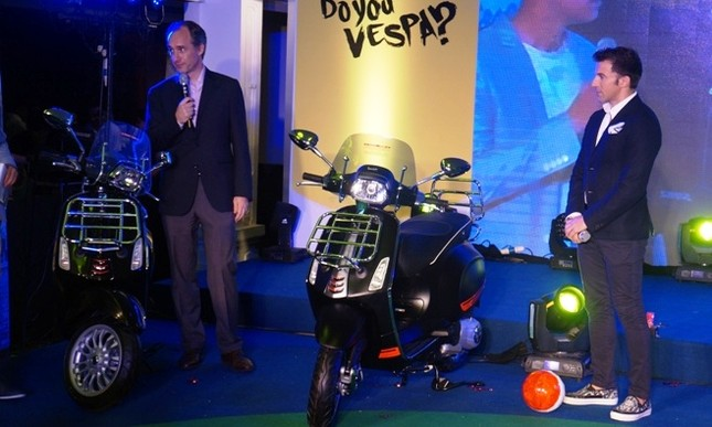 Vespa Sprint phiên bản Del Piero giá bao nhiêu? ảnh 3