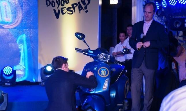 Vespa Sprint phiên bản Del Piero giá bao nhiêu? ảnh 5