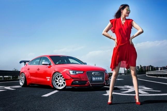 Mỹ nhân khỏe đường cong 'gây mê' bên Audi A5 độ độc ảnh 8