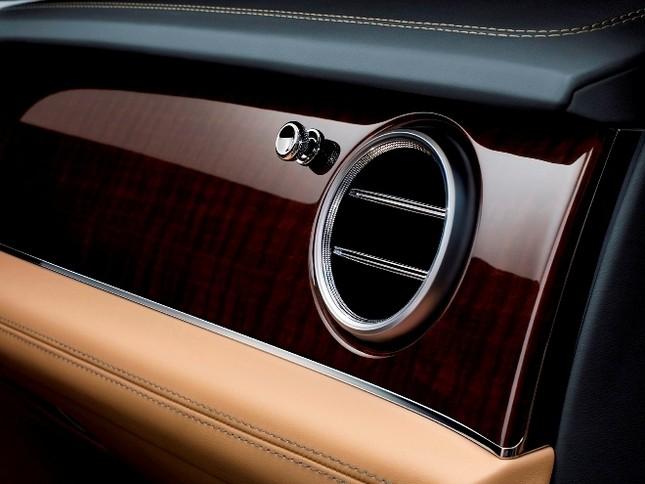Bentley gây sốc với chiếc SUV Bentayga ảnh 12