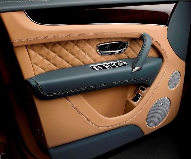Bentley gây sốc với chiếc SUV Bentayga ảnh 13