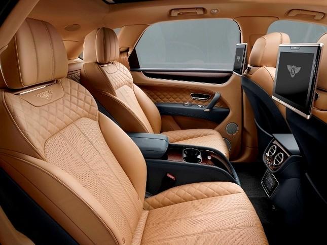 Bentley gây sốc với chiếc SUV Bentayga ảnh 20