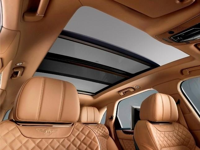 Bentley gây sốc với chiếc SUV Bentayga ảnh 21