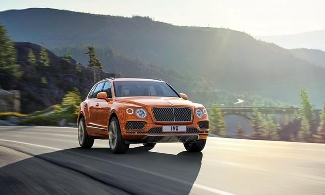 Bentley gây sốc với chiếc SUV Bentayga ảnh 1