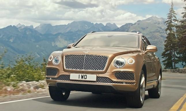 Bentley gây sốc với chiếc SUV Bentayga ảnh 3