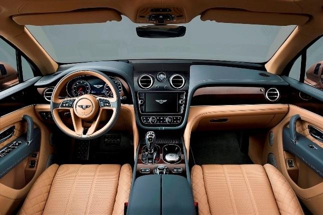 Bentley gây sốc với chiếc SUV Bentayga ảnh 10