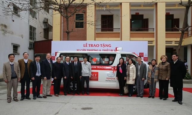 Toyota chung tay vì an toàn giao thông Việt Nam ảnh 2