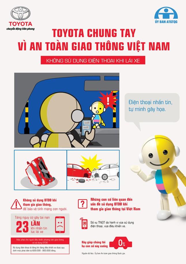 Toyota chung tay vì an toàn giao thông Việt Nam ảnh 3